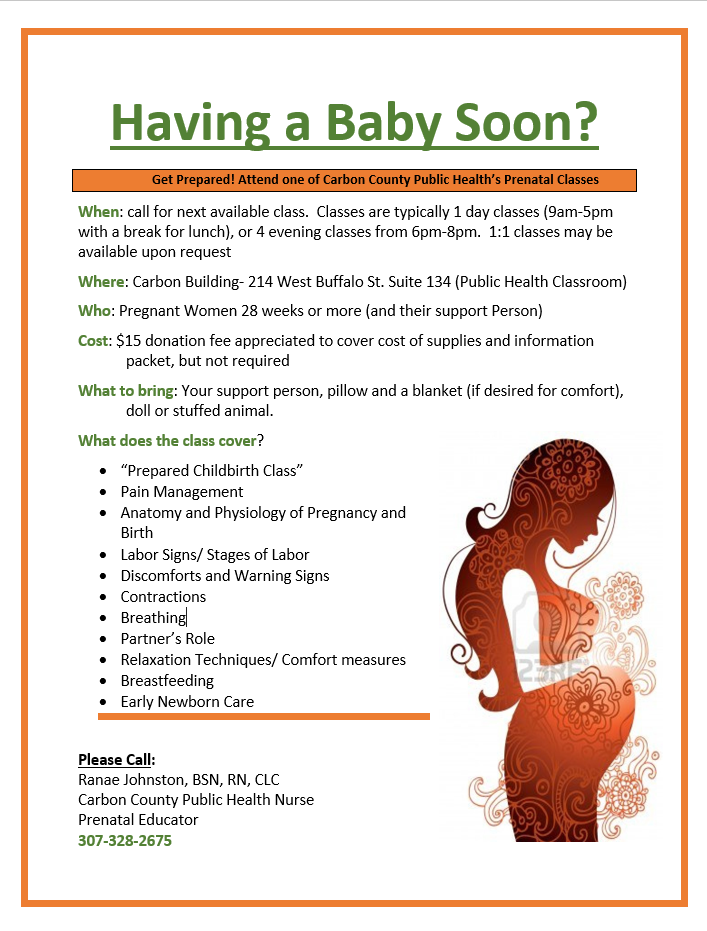 Carbon County, WY - Official Website - Childbirth Classes